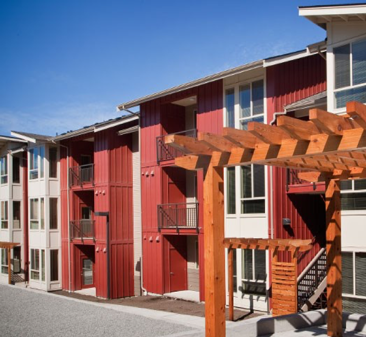 Image of OC Housing modern community complex